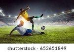 football hottest moments   Shutterstock . vector #652651849