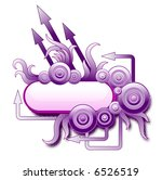 violet arrows | Shutterstock .eps vector #6526519