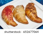 Three Fresh Buttery Croissants...