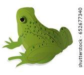 frog illustration | Shutterstock .eps vector #652677340