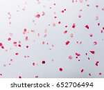 roses card  white floral... | Shutterstock . vector #652706494