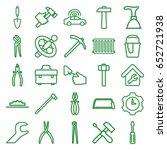 repair icons set. set of 25...   Shutterstock .eps vector #652721938