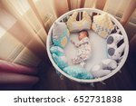 Cute Newborn Little Girl...