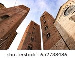 Towers Of Historic Center...