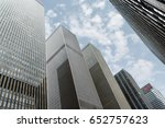 new york  usa   may 1  2016 ... | Shutterstock . vector #652757623