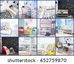ideas for child's room interior.... | Shutterstock . vector #652759870