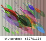 leaf icon elements | Shutterstock .eps vector #652761196