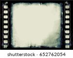 grunge frame or distressed...   Shutterstock .eps vector #652762054