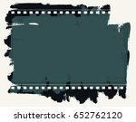 grunge frame or distressed...   Shutterstock .eps vector #652762120