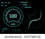 car dashboard | Shutterstock .eps vector #652768210
