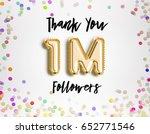 1m or 1 million followers thank ...