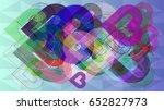 love elements vector | Shutterstock .eps vector #652827973