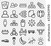 group icons set. set of 25... | Shutterstock .eps vector #652843990