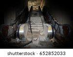 Center Staircase And Escalators ...