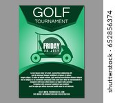 golf tournament poster or flyer | Shutterstock .eps vector #652856374