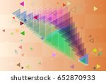 geometric art design | Shutterstock .eps vector #652870933