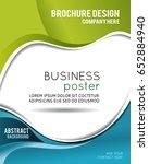 professional business design... | Shutterstock .eps vector #652884940