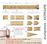 do it yourself kit of vector... | Shutterstock .eps vector #652901698