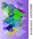 hart texture design | Shutterstock .eps vector #652925680