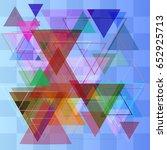 geographic texture vector | Shutterstock .eps vector #652925713