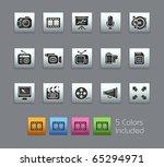 multimedia    satinbox series   ... | Shutterstock .eps vector #65294971
