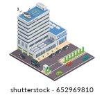 modern isometric police... | Shutterstock .eps vector #652969810