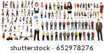 collection of people flat... | Shutterstock . vector #652978276