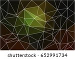green brown yellow black... | Shutterstock . vector #652991734