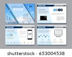 template design brochure ... | Shutterstock .eps vector #653004538