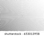 abstract halftone dotted...   Shutterstock .eps vector #653013958