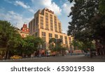 kolkata  india  june 04 2017 ... | Shutterstock . vector #653019538