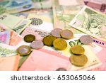 Different Currency Note And...