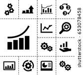 progress icon. set of 13 filled ...   Shutterstock .eps vector #653078458