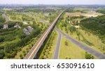 china jiangsu wuxi  aerial... | Shutterstock . vector #653091610