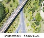 china jiangsu wuxi  aerial... | Shutterstock . vector #653091628
