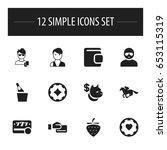 set of 12 editable game icons....