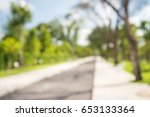 abstract blur city park bokeh... | Shutterstock . vector #653133364