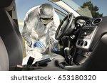 crime scene investigation  ...   Shutterstock . vector #653180320