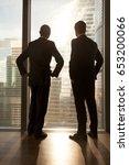 vertical rear view of afro...   Shutterstock . vector #653200066
