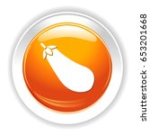 eggplant icon | Shutterstock .eps vector #653201668