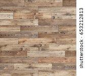seamless wood parquet texture ... | Shutterstock . vector #653212813
