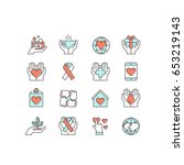 vector icon style illustration... | Shutterstock .eps vector #653219143