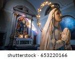 volterra  tuscany   may 21 ... | Shutterstock . vector #653220166
