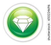 diamant stone icon | Shutterstock .eps vector #653224696