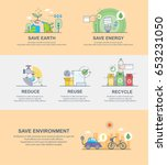 save environment | Shutterstock .eps vector #653231050