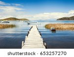 beautiful coast of island of... | Shutterstock . vector #653257270