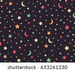 bright festive background.... | Shutterstock .eps vector #653261230