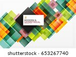 corporate vector business... | Shutterstock .eps vector #653267740