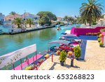 one of many canals in... | Shutterstock . vector #653268823