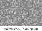 dark silver  gray vector... | Shutterstock .eps vector #653270830